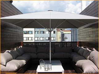Sonnenschirme für Lounge