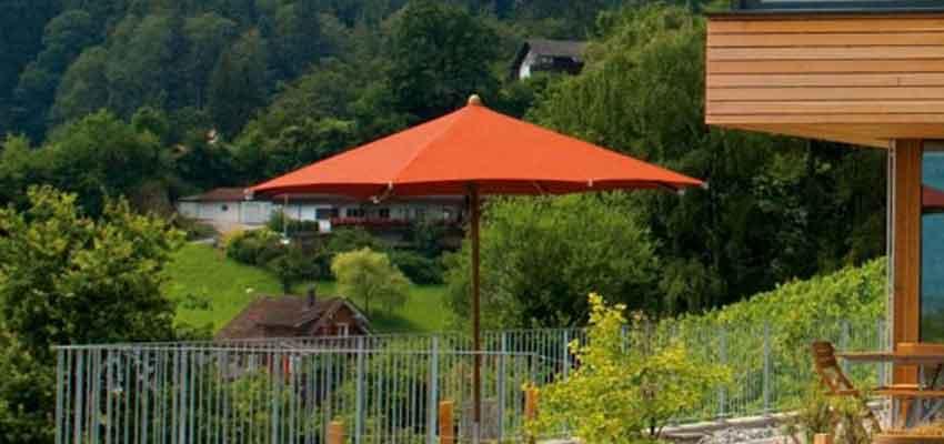 Glatz Teakwood – Sonnenschirme aus Teakholz