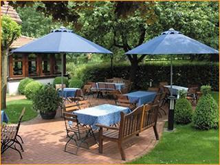Sonnenschirme für Biergärten