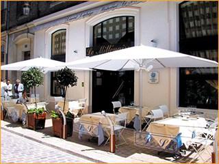 Sonnenschirme für Restaurants