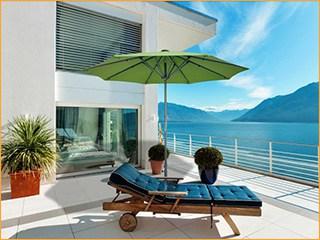 Sonnenschirme für Strandbars