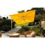 Ampelschirm Saint Tropez gelb