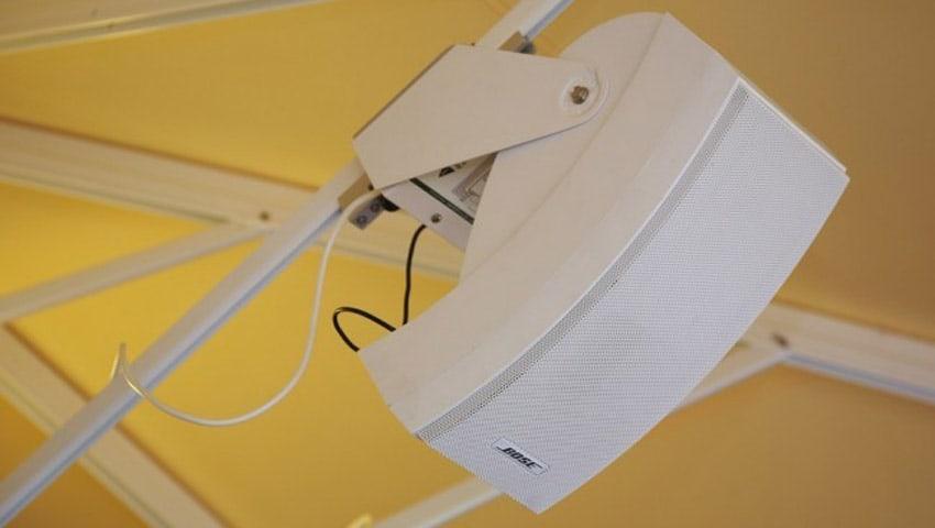 CXL BOSE-Soundsystem für den BaHaMa® Jumbrella