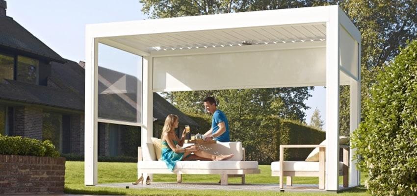 Maßgeschneiderte Terrassenüberdachung - Sonnenschirm-Blog von SunLiner