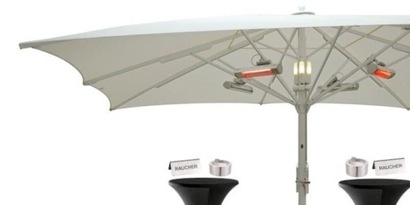 Bei Wind und Wetter: Die Raucher-Lounge von Sunliner®