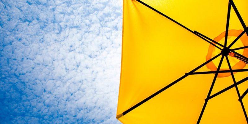 Sonnenschirm UV-Schutz
