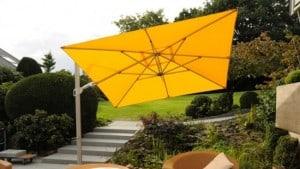Quadratischer Schirm