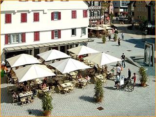 Sonnenschirme für Restaurant