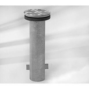Glatz Bodenhülse M4 Stahl verzinkt