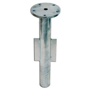 Shademaker Bodenhülse Stahl verzinkt