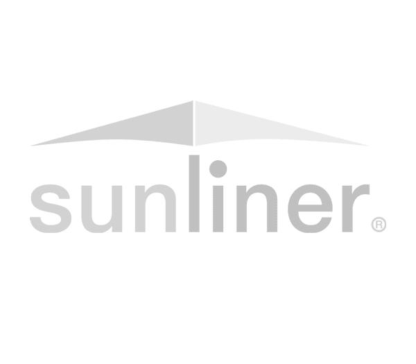 - Sonderpreis - Umbrosa Paraflex 190x190cm (quadratisch) grey inkl. Schirmhalter