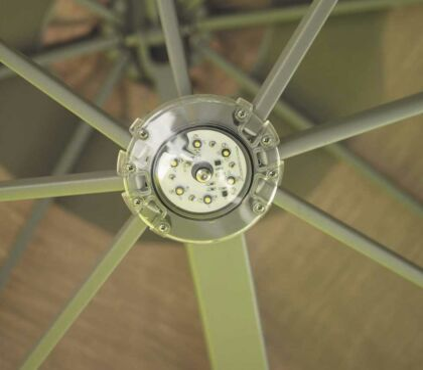 4er Set Lichtsystem - inkl. Fernbedienung (Quadro)