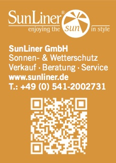 QR-Code SunLiner Sonnenschirme