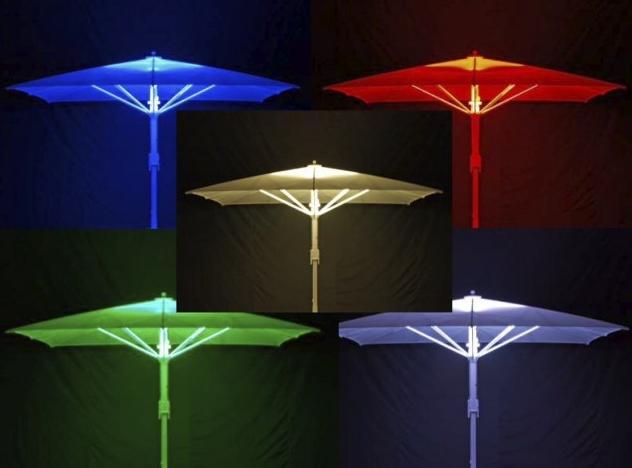Sonnenschirm LED-Beleuchtung BaHaMa Jumbrella